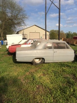 Future pro street 1966 Chevrolet Nova Post project for sale