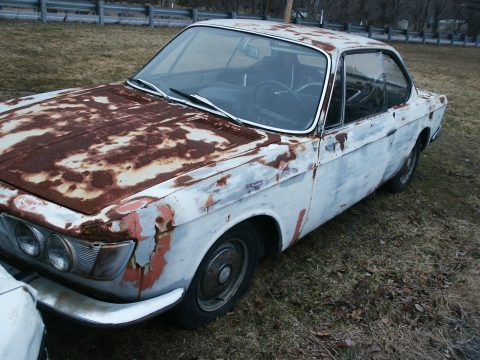 German classic 1967 BMW 2002 2000 CS coupe project for sale