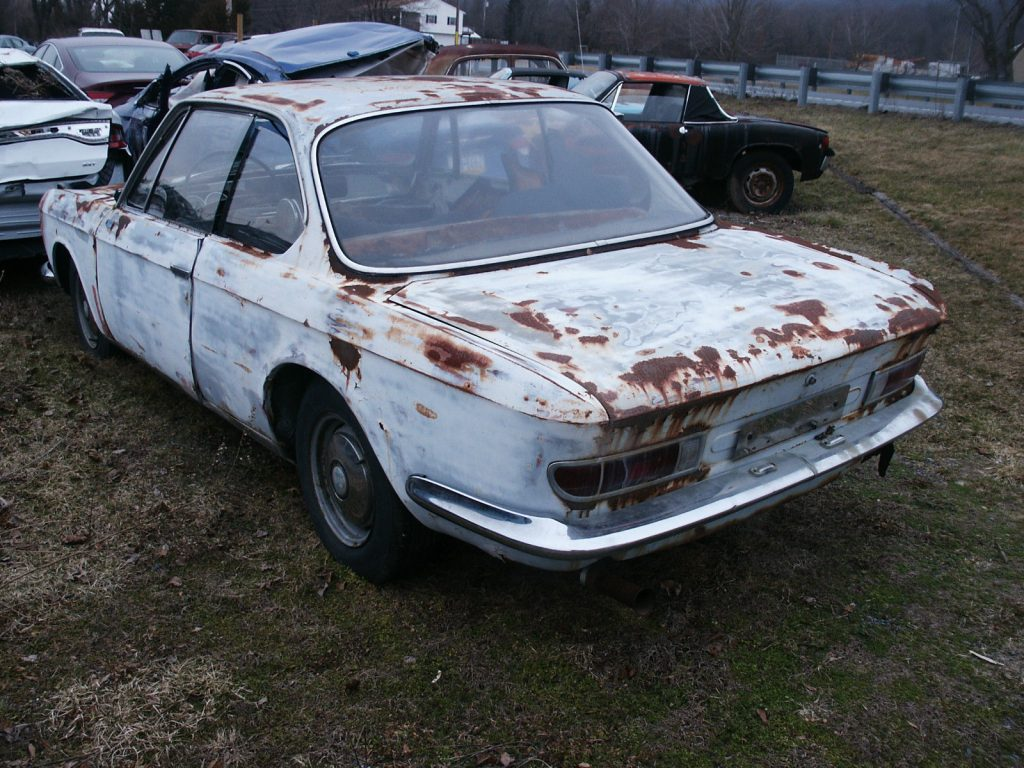 german classic 1967 bmw 2002 2000 cs coupe project for sale. Black Bedroom Furniture Sets. Home Design Ideas