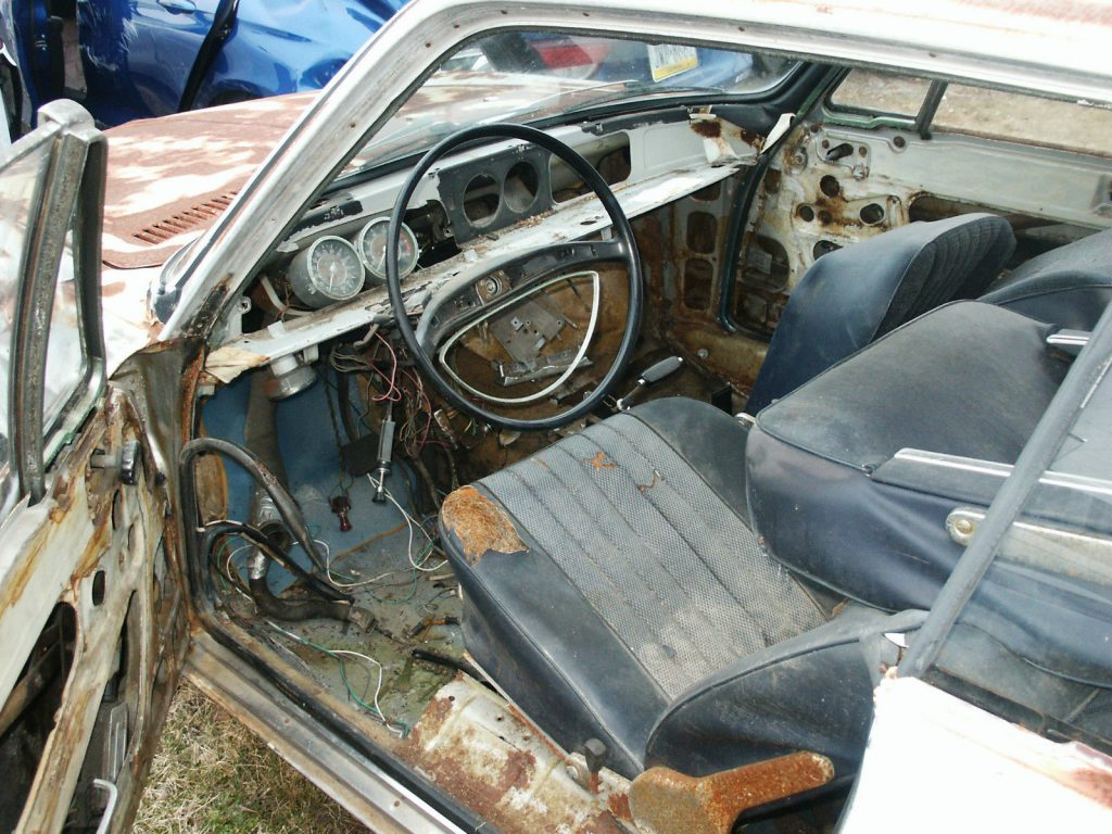 German classic 1967 BMW 2002 2000 CS coupe project