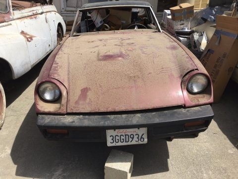 Lots of parts 1974 Jensen Healey G80 Base Convertible project car for sale