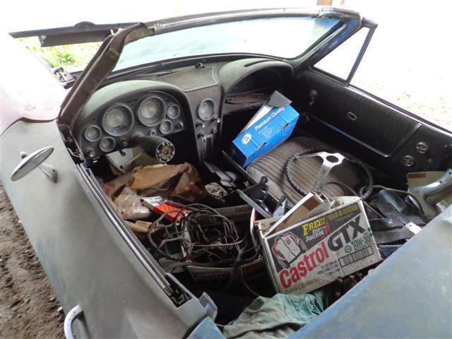 Missing parts 1963 Chevrolet Corvette project