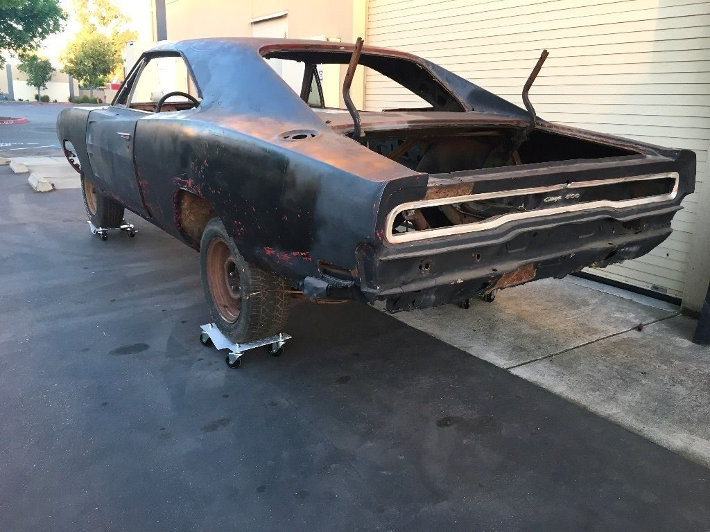 Needs frame off 1970 Dodge Charger project car