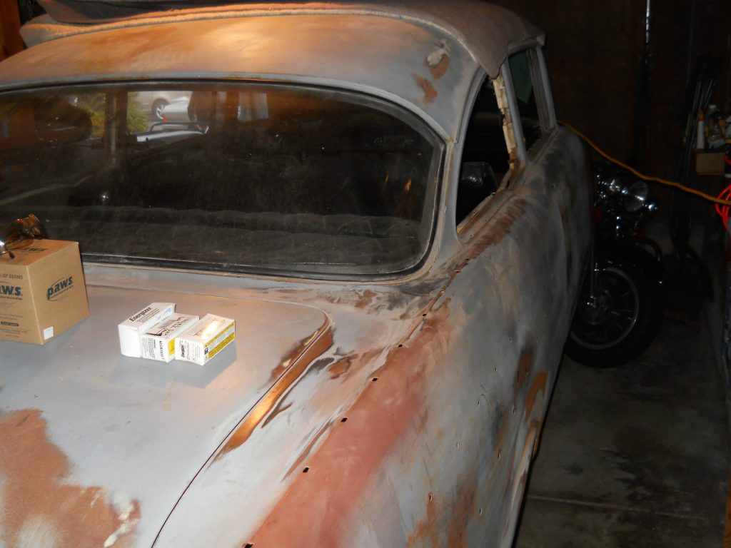 Needs front clip 1957 Chevrolet Bel Air/150/210 project