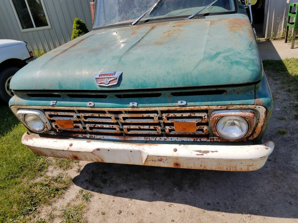 Not running 1964 Ford Pickups project