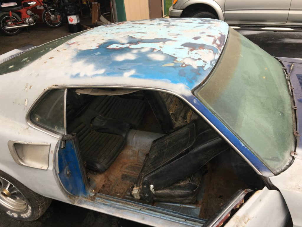 Optioned 1969 Ford Mustang Mach 1 project car