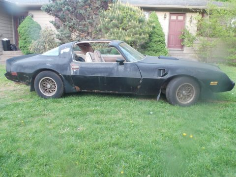 Smokey and the Bandit like 1979 Pontiac Trans Am project for sale