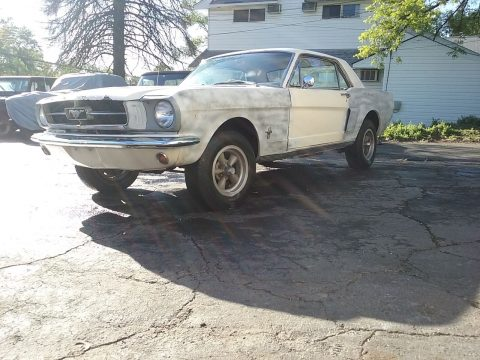 Solid 1965 Ford Mustang project for sale