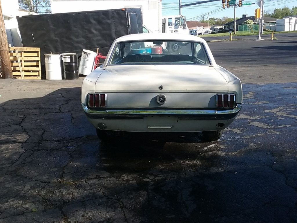 Solid 1965 Ford Mustang project