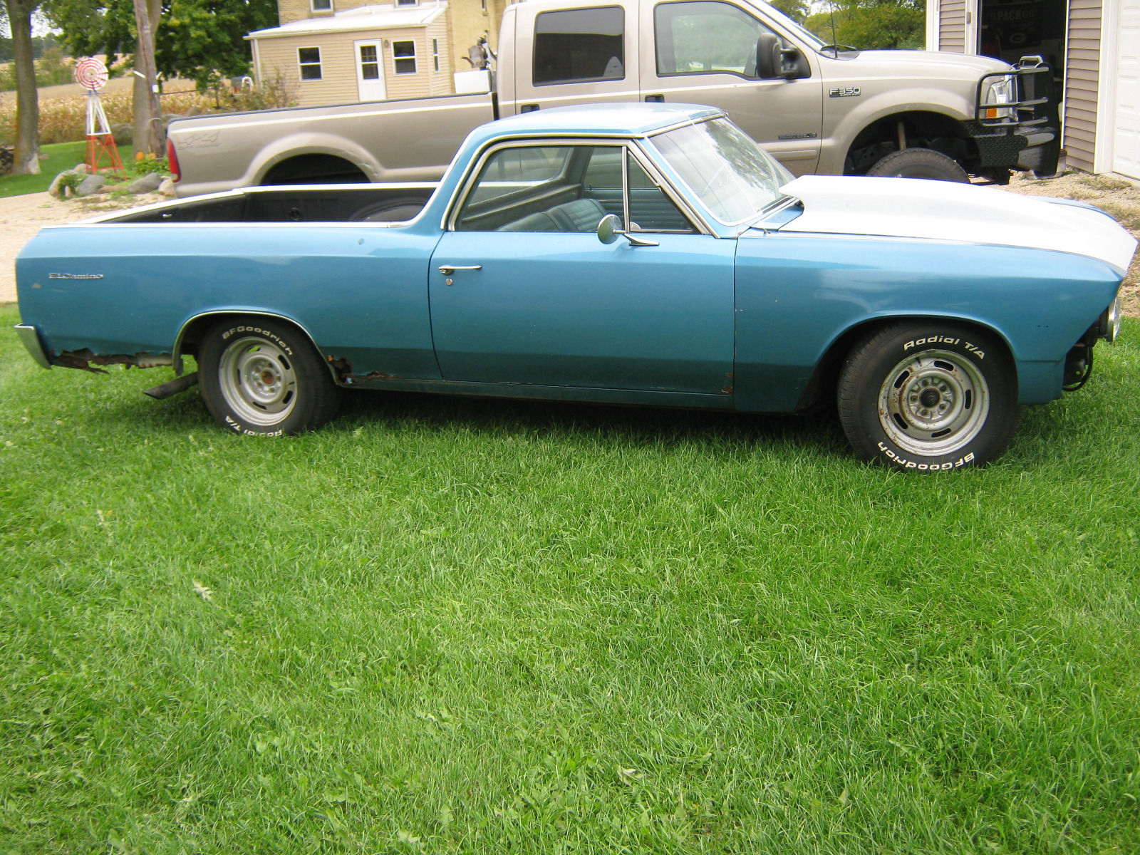 Solid base 1966 Chevrolet El Camino project for sale