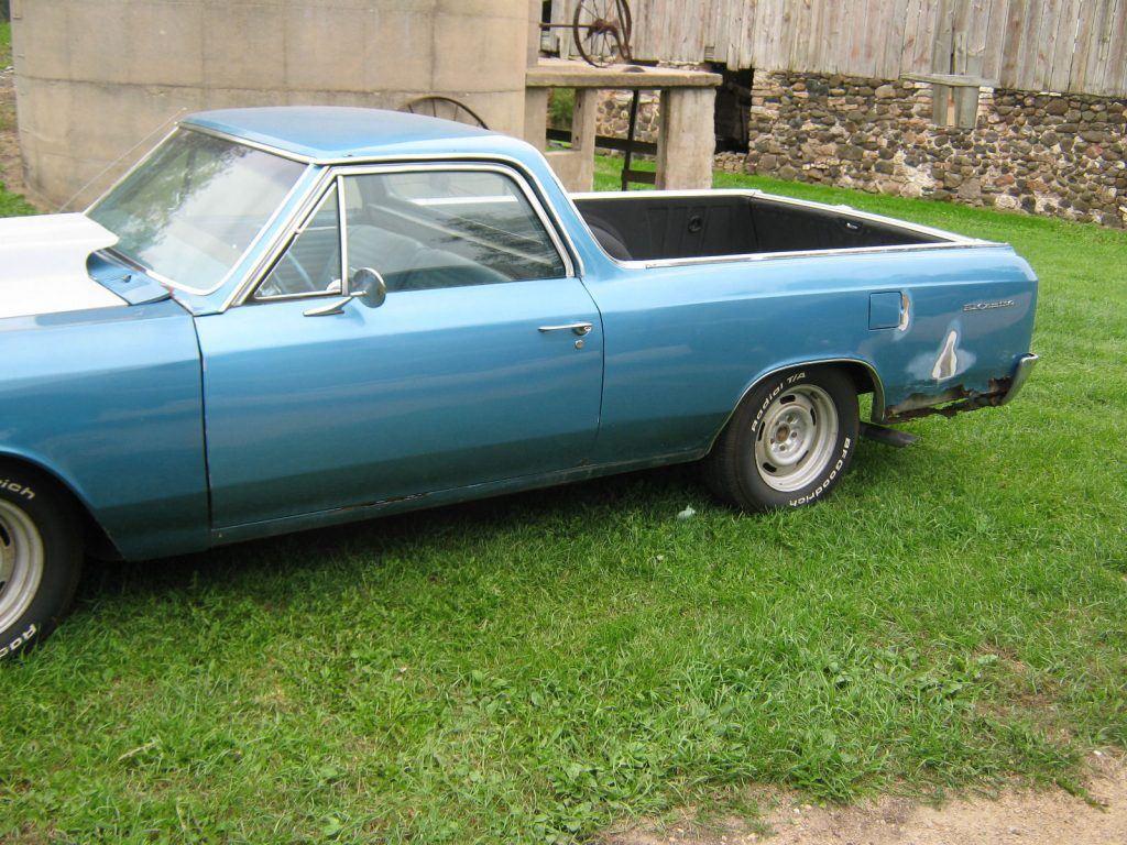 Solid base 1966 Chevrolet El Camino project