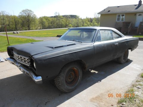 Solid body 1968 Plymouth Road Runner project for sale