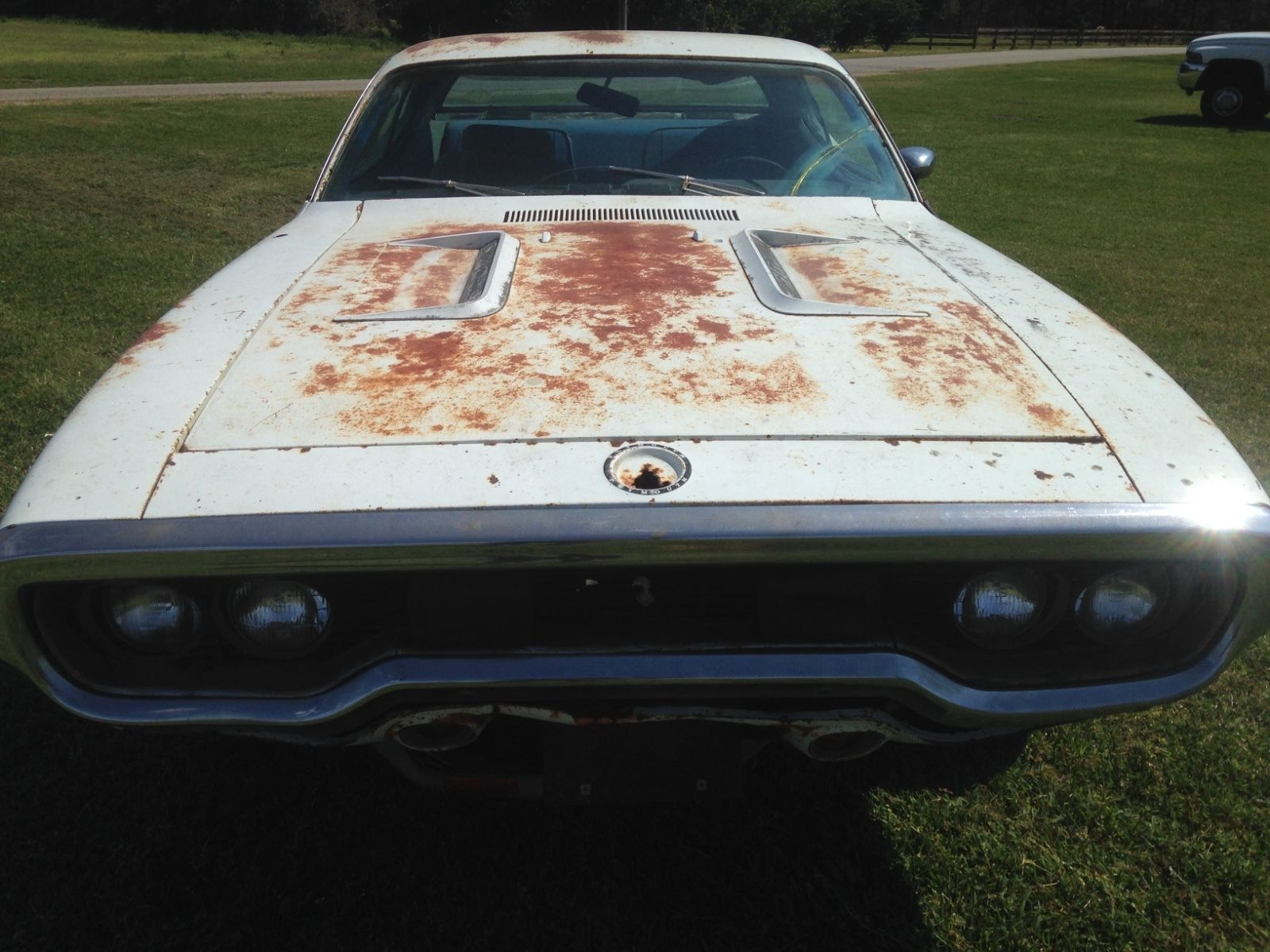 Solid Mopar 1971 Plymouth Road Runner Project Car For Sale