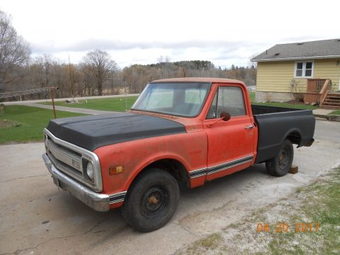 Tons of parts 1969 Chevrolet C 10 project for sale