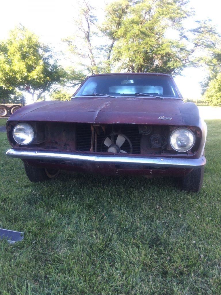 Almost complete 1967 Chevrolet Camaro Rally Sport project
