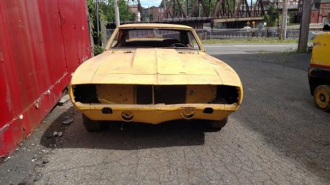 Bodywork done 1969 Chevrolet Camaro Base project for sale