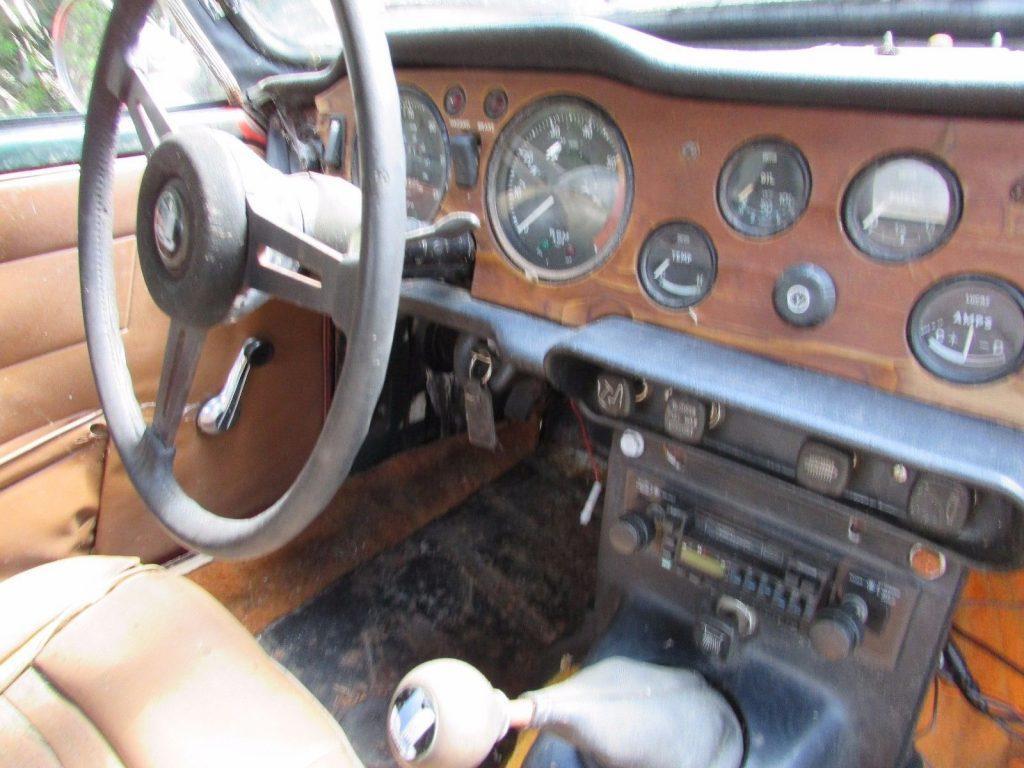 British classic 1971 Triumph TR 6 project