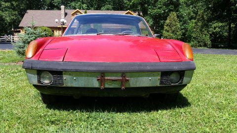 Complete 1971 Porsche 914 Targa project for sale