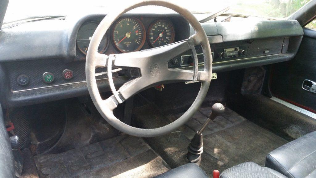 Complete 1971 Porsche 914 Targa project