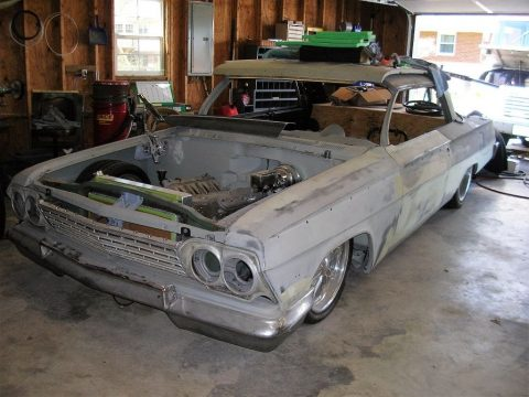 Complete bodywork 1962 Chevrolet Impala 2 dr poject for sale