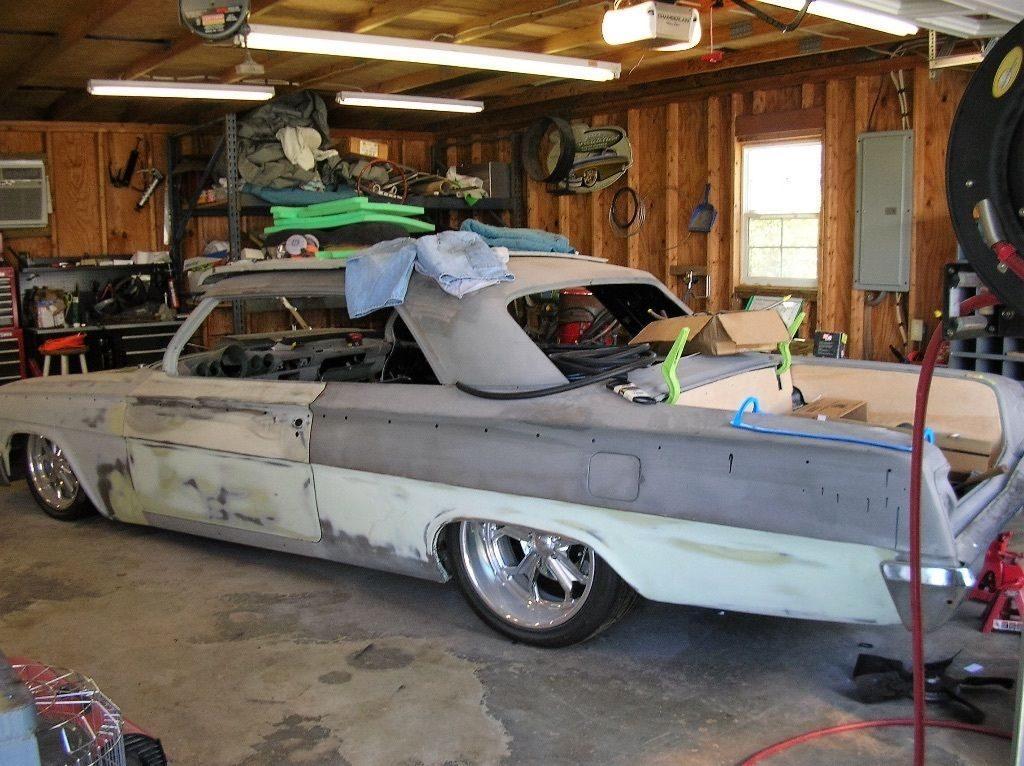 Complete bodywork 1962 Chevrolet Impala 2 dr poject