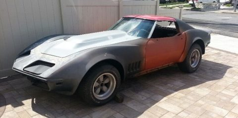 Custom build 1968 Chevrolet Corvette project for sale