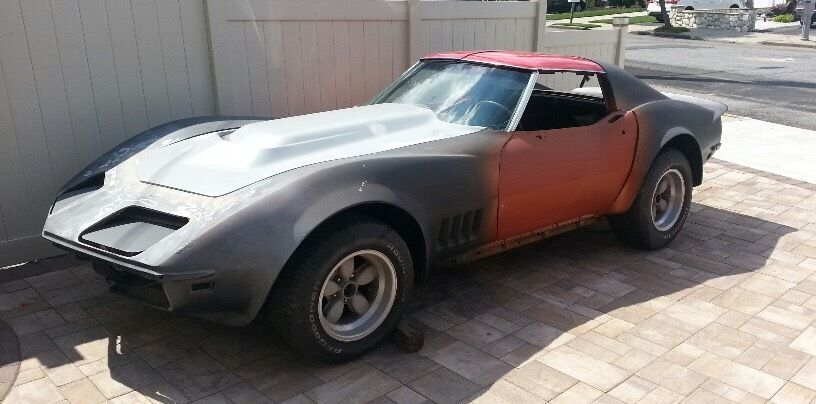 Custom build 1968 Chevrolet Corvette project
