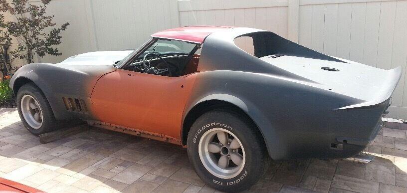 Custom build 1968 Chevrolet Corvette project