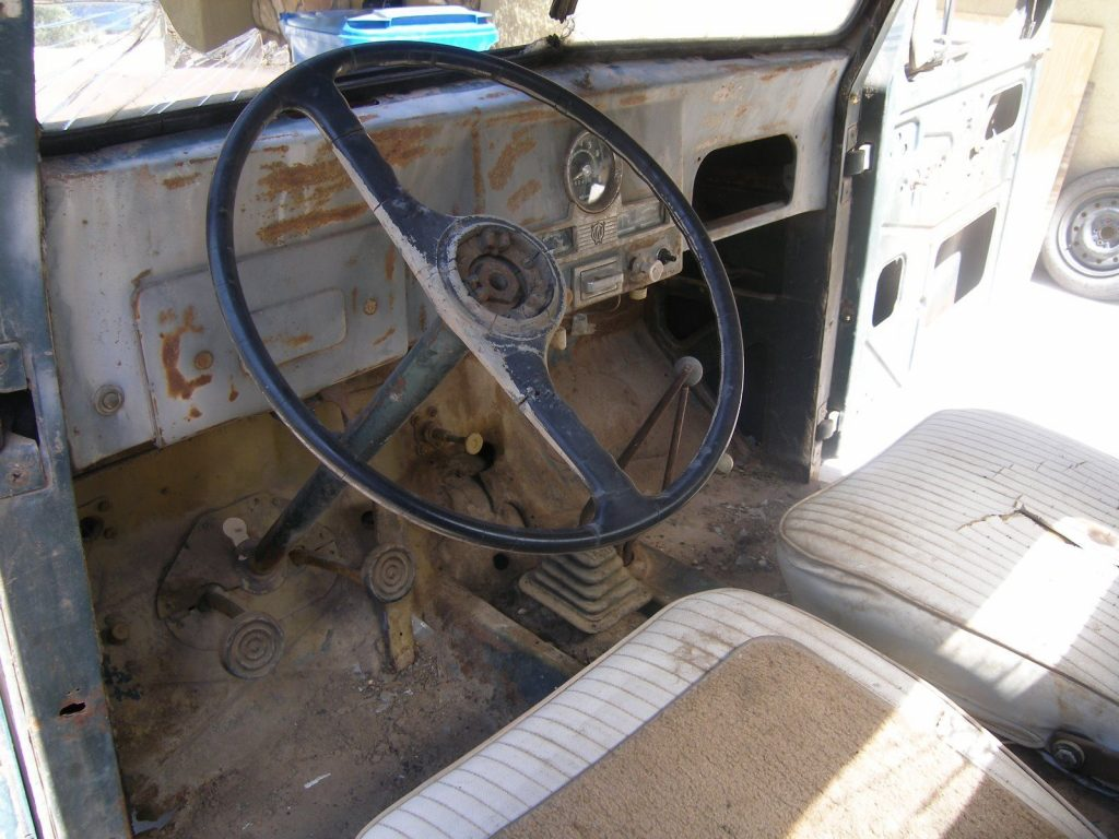 Desert find 1951 Willys Pickup project