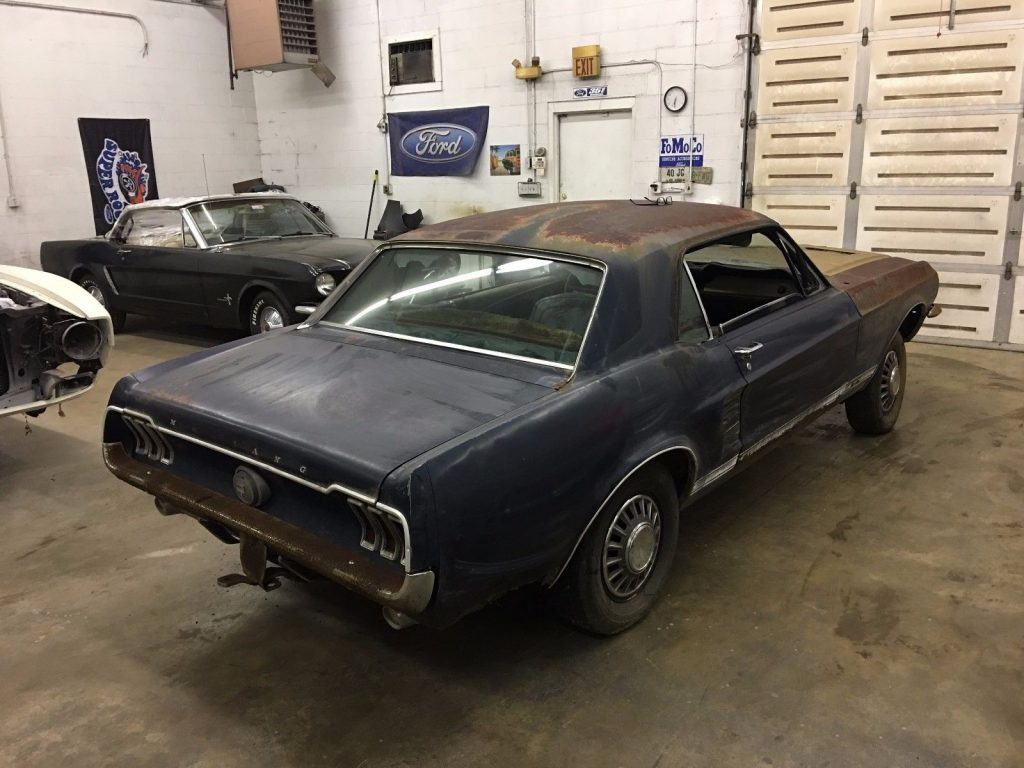 Factory 4 speed 1967 Ford Mustang GT project