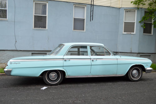 Lot of work done 1962 Chevrolet Impala project