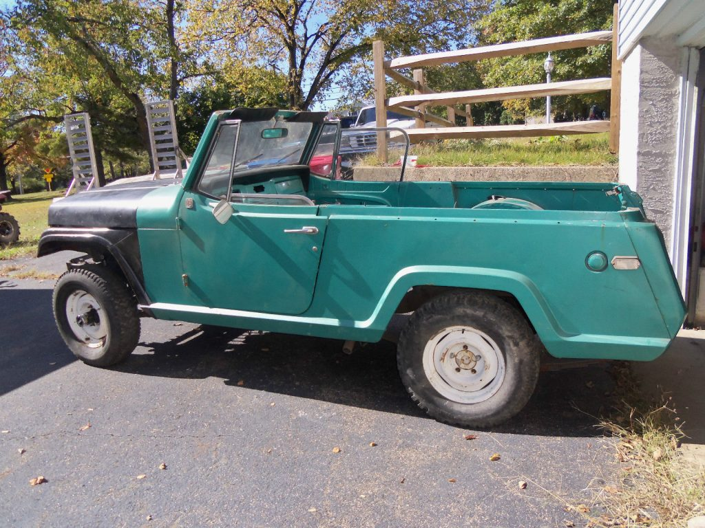 Lots of parts included 1969 Jeep Commando Grand National V6 PROJECT