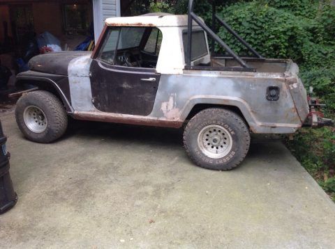 Many parts extra 1967 Jeep Commando Pickup project for sale