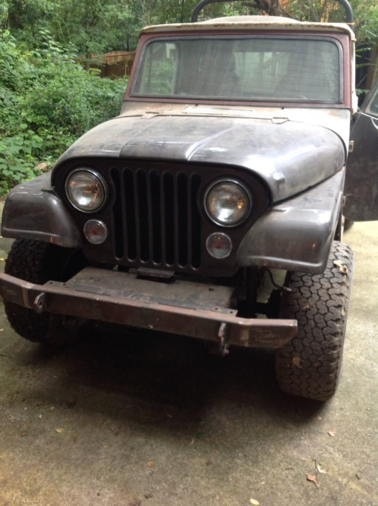 Many parts extra 1967 Jeep Commando Pickup project