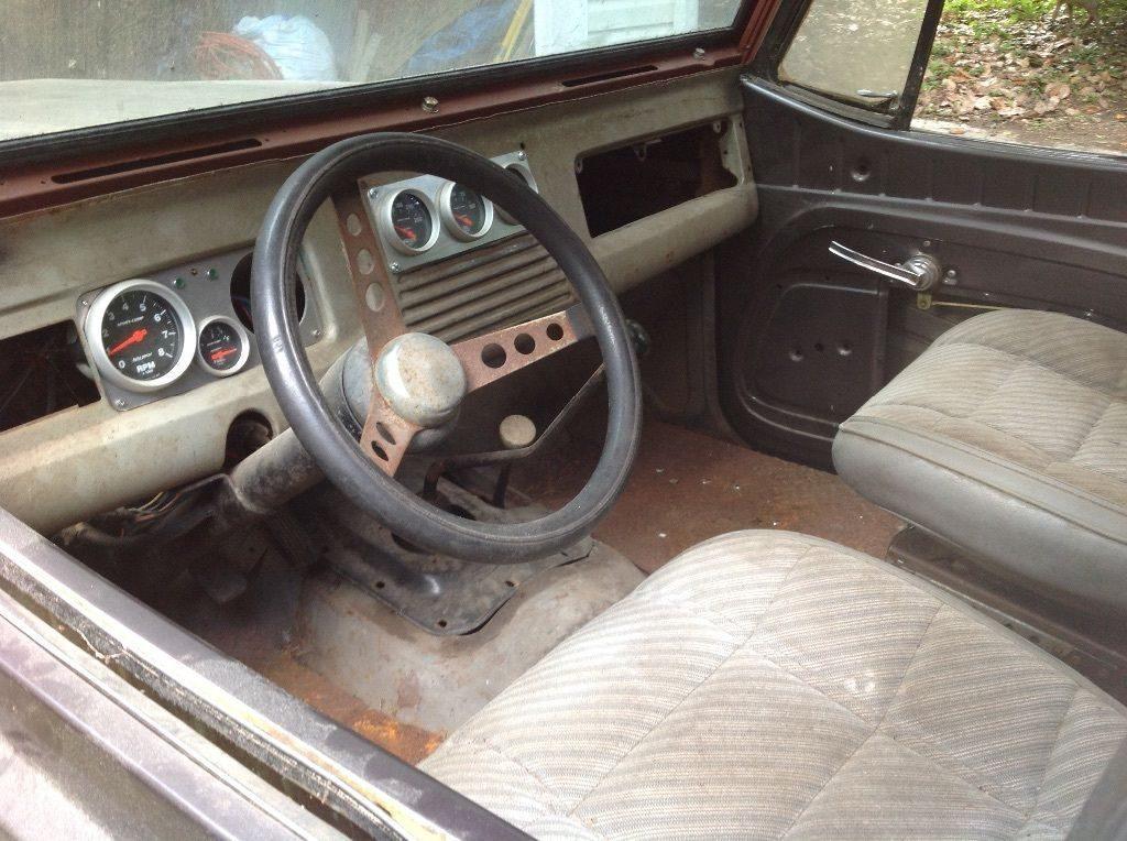 Many parts extra 1967 Jeep Commando Pickup project