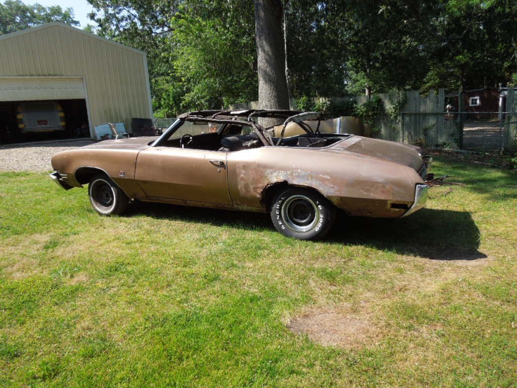 Missing drivetrain 1970 Buick Skylark Grand Sport project
