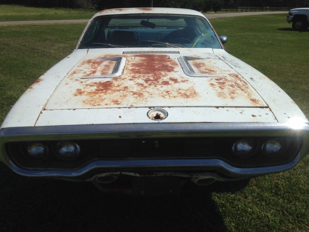 Missing Drivetrain 1971 Plymouth Road Runner Project For Sale