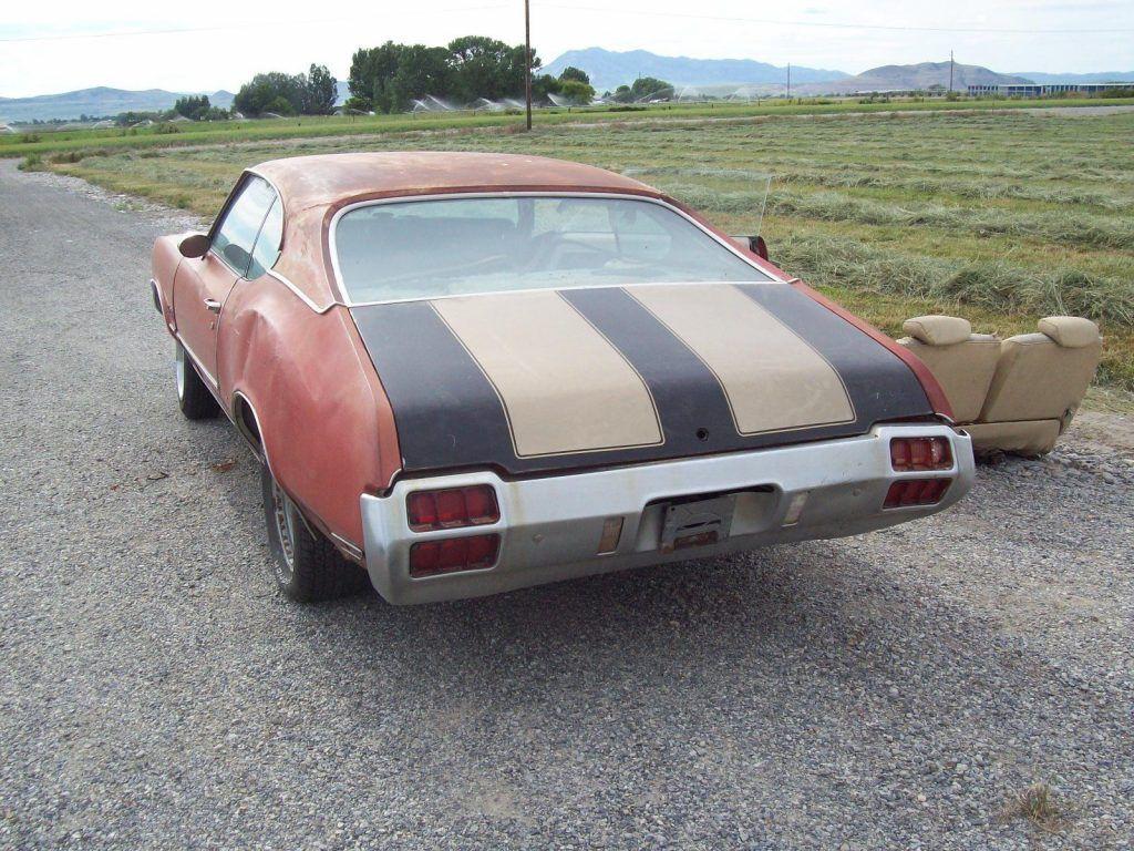 Missing drivetrain 1972 Oldsmobile Cutlass S project