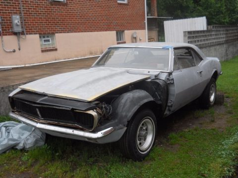 Missing engine 1967 Chevrolet Camaro project for sale