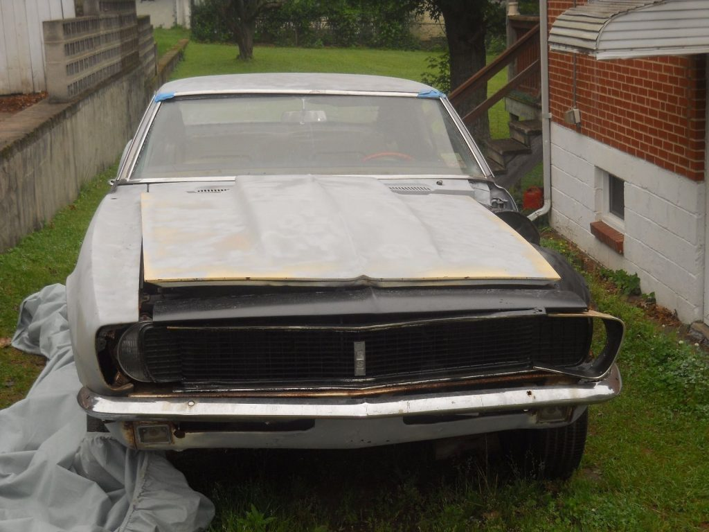 Missing engine 1967 Chevrolet Camaro project