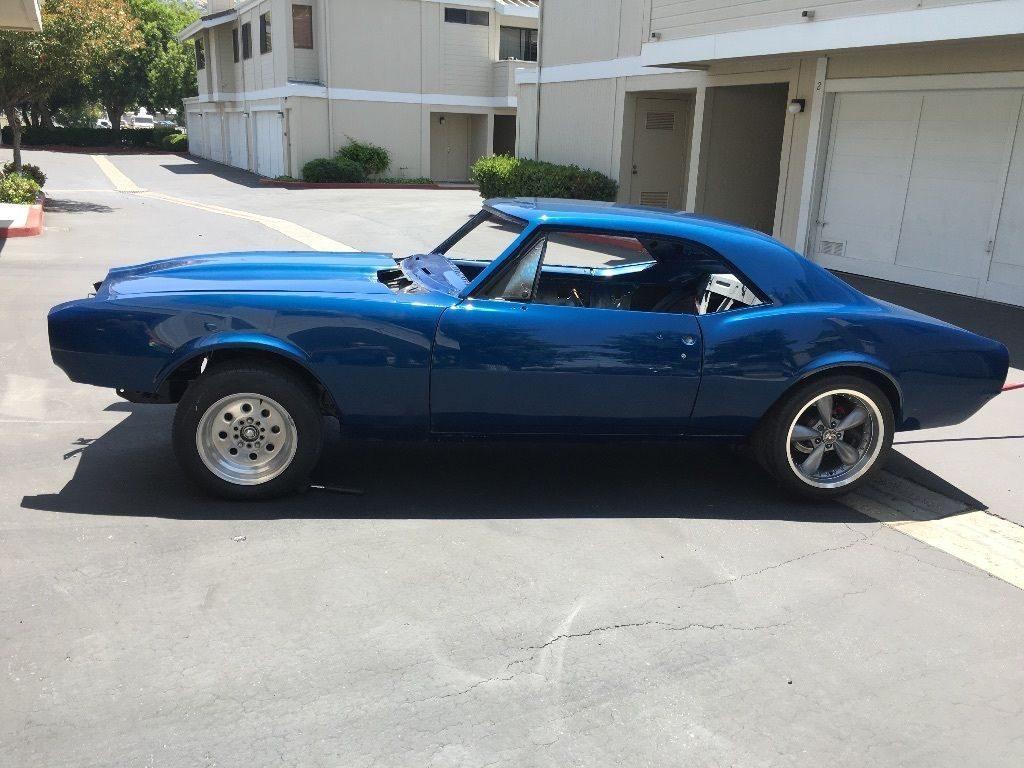 Needs finishing 1967 Chevrolet Camaro project