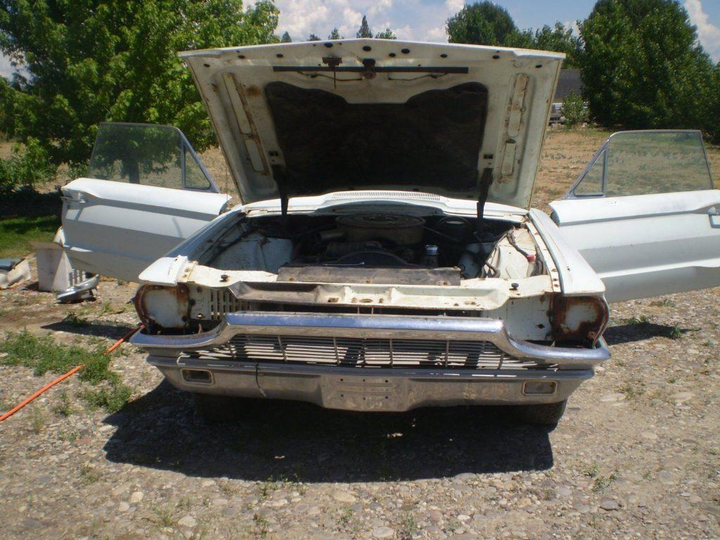 Starts and runs 1965 Ford Thunderbird Base project