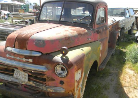 Straight body 1948 Dodge Ram 1500 poject for sale