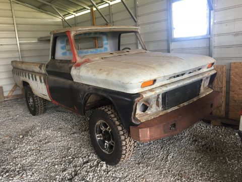 Tons of new parts 1966 Chevrolet C 10 project for sale