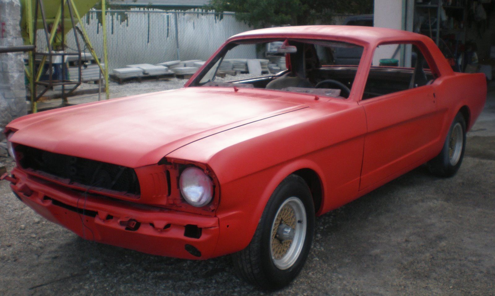 almost finished 1966 ford mustang coupe project for sale. Black Bedroom Furniture Sets. Home Design Ideas