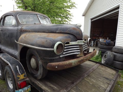 Barn find 1942 Plymouth project for sale