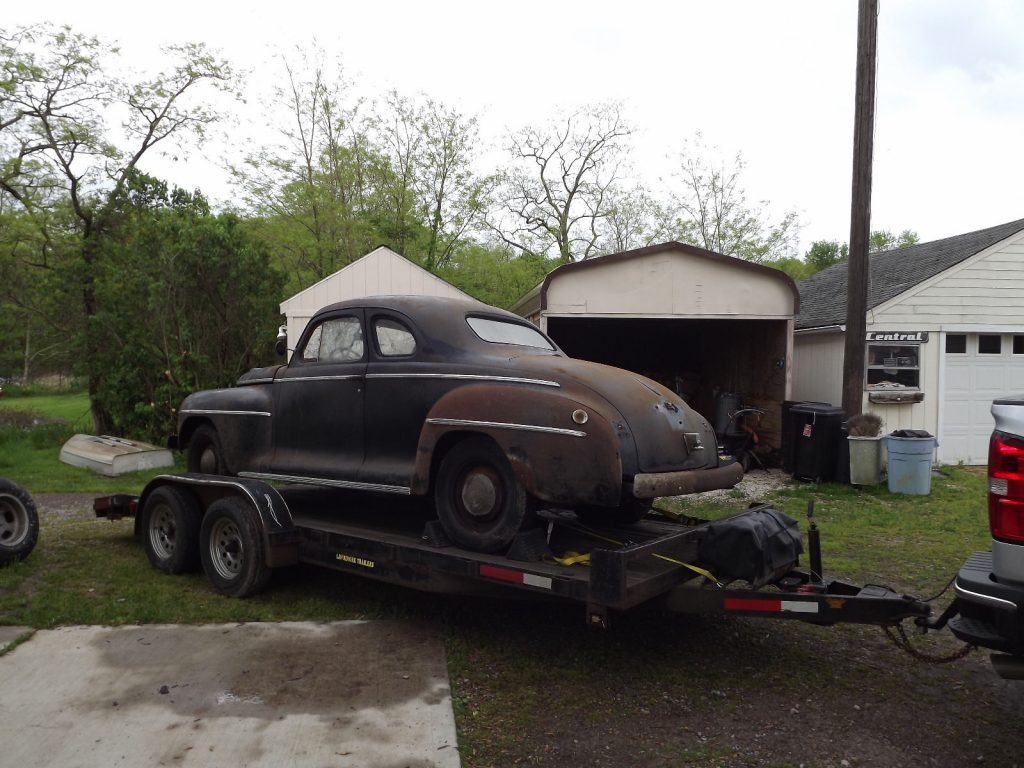 Barn find 1942 Plymouth project