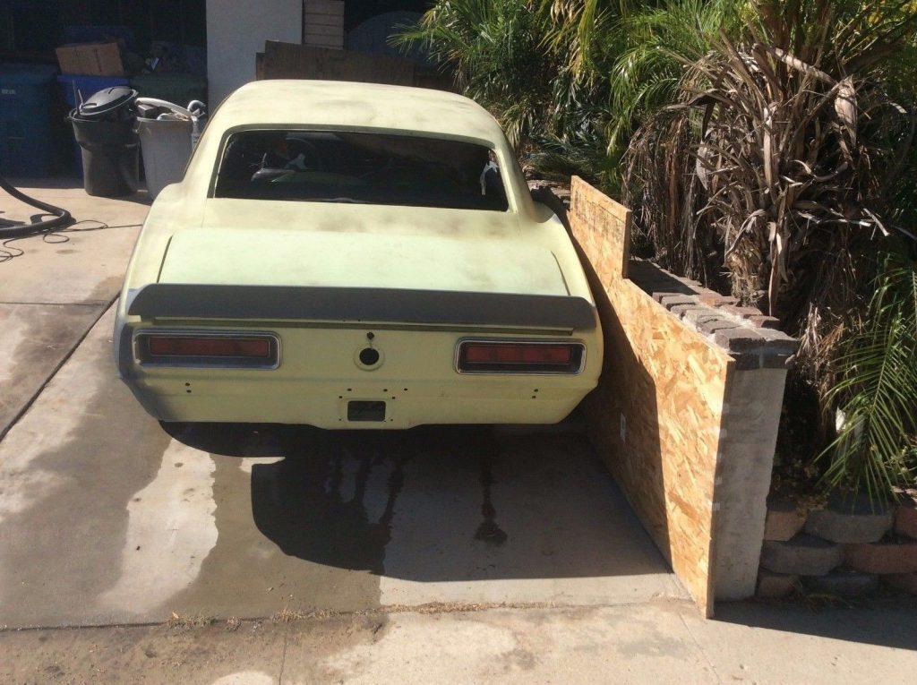 Big block 1967 Chevrolet Camaro project