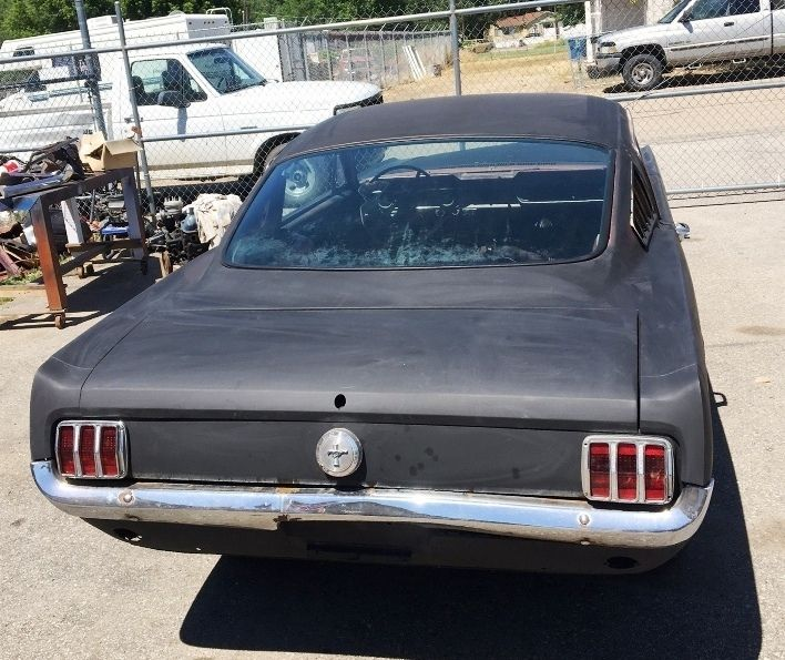 Clean 1966 Ford Mustang Fastback Project For Sale