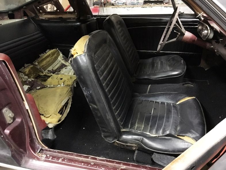 Clean 1966 Ford Mustang Fastback project